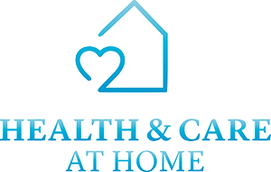 Health and care at home logo - home care provider partner in the south west.